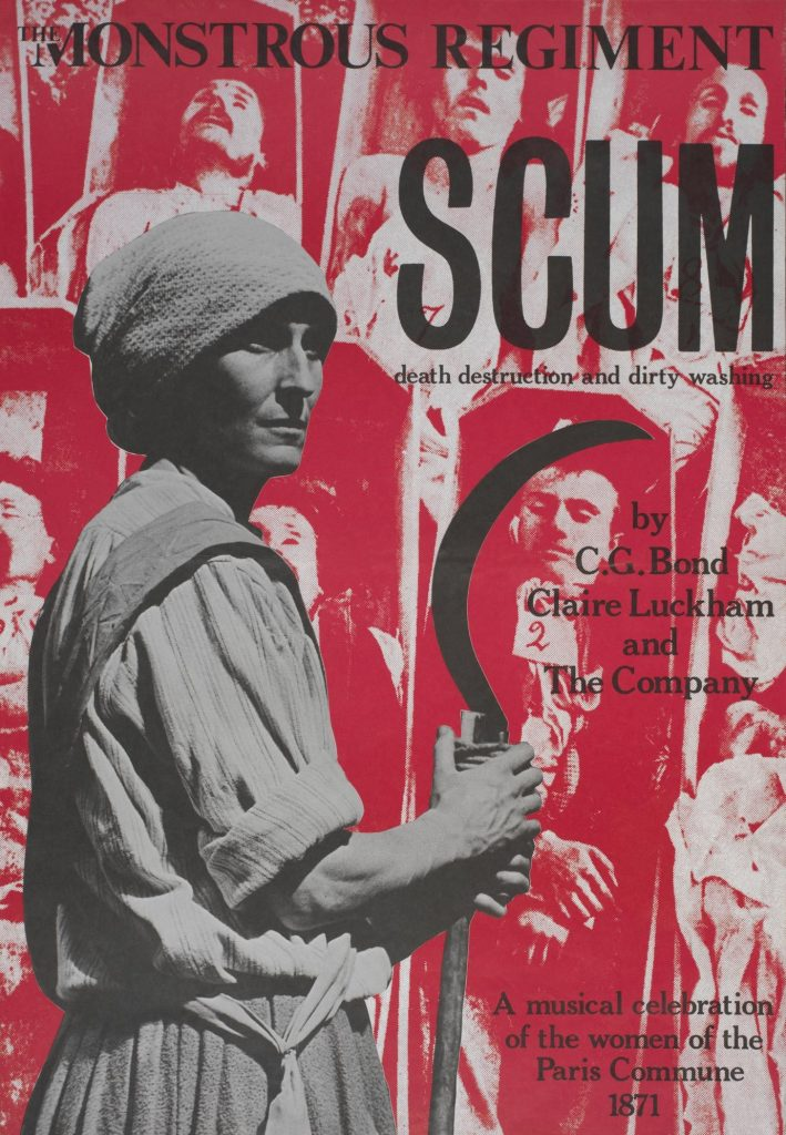 Scum Poster 1976 - Monstrous Regiment