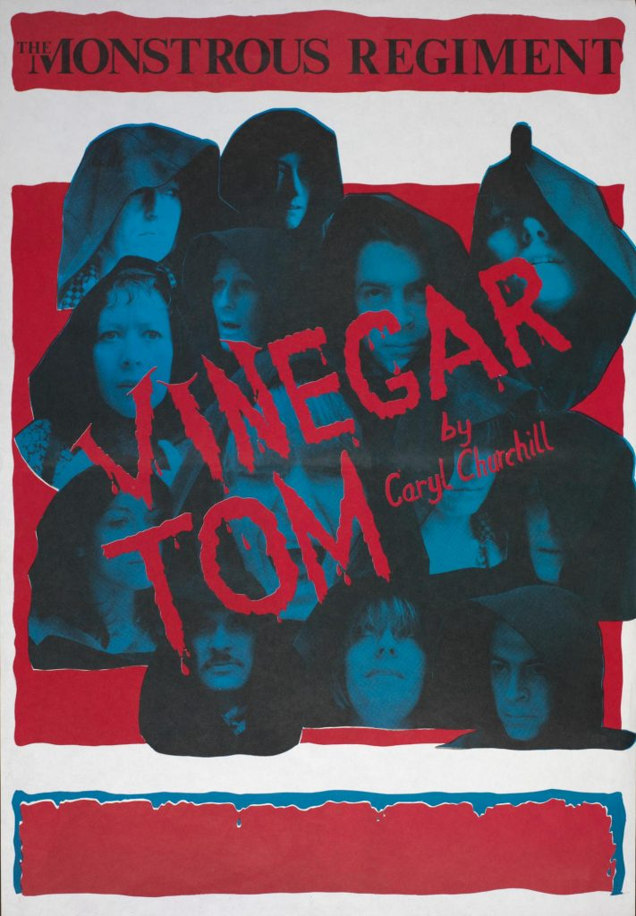 Vinegar Tom Poster 1976 - Monstrous Regiment