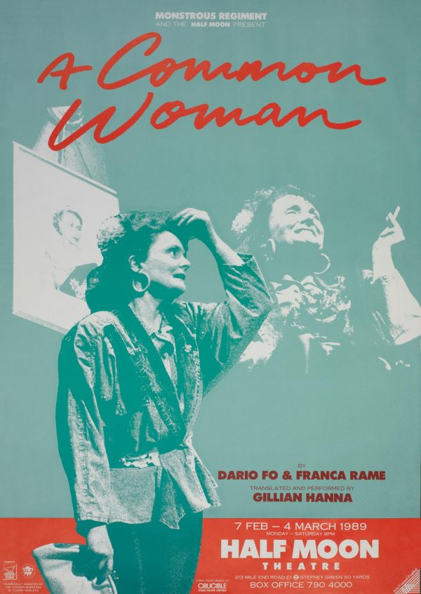 A Common Woman 1989 Poster - Monstrous Regiment