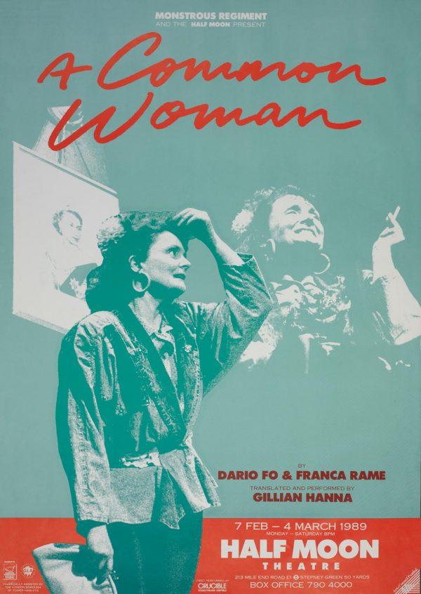 A Common Woman 1989 Poster - Monstrous Regiment