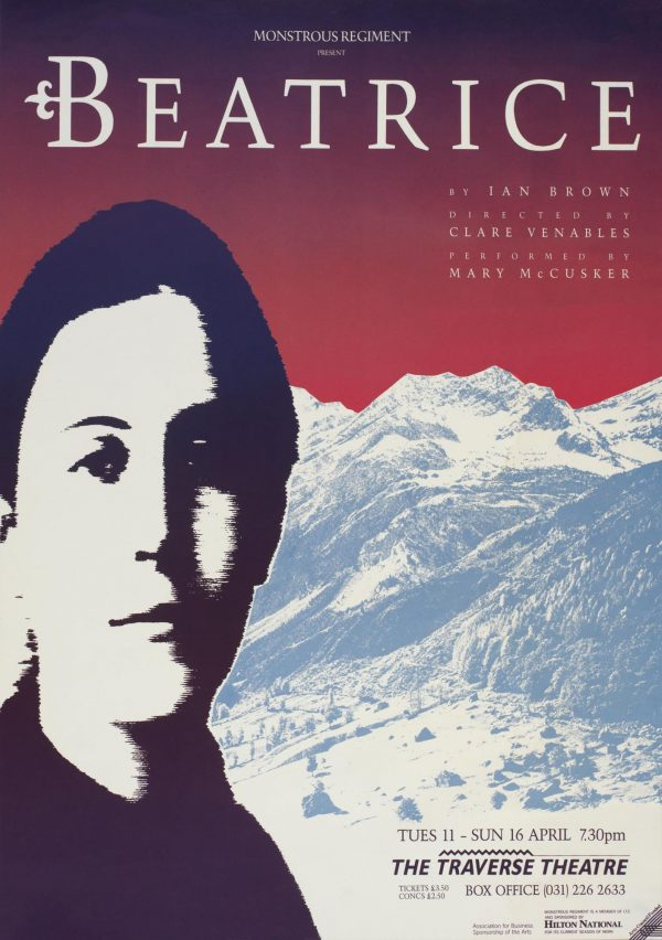 Beatrice 1989 Poster - Monstrous Regiment