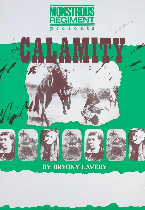 Calamity 1983 Poster - Monstrous Regiment