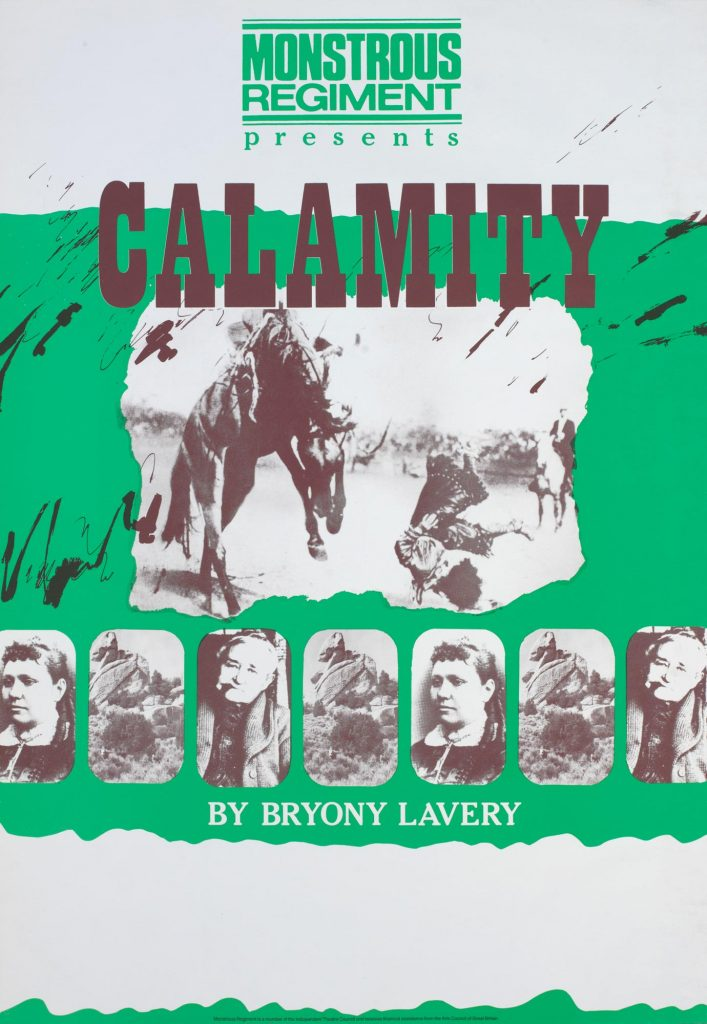 Calamity 1983 Poster - Monstrous Regiment