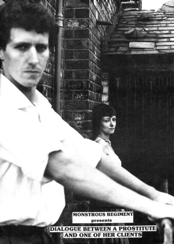 Dialogue Between A Prostitute 1980 Poster - Monstrous Regiment