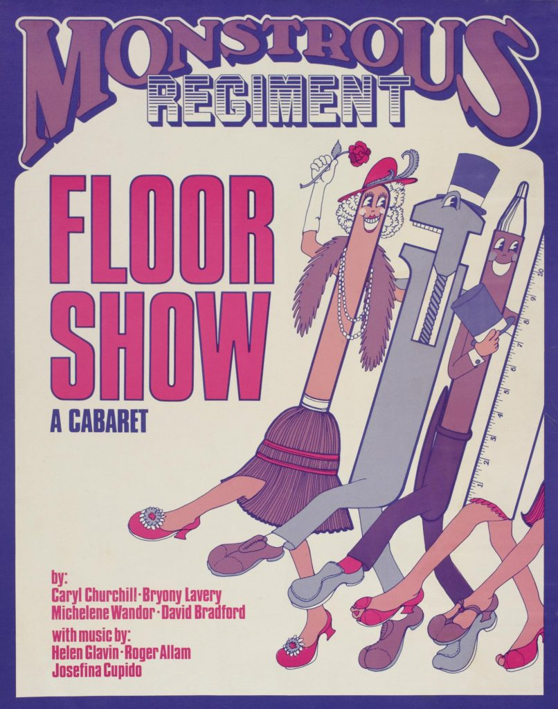 Floorshow 1977 Poster - Monstrous Regiment