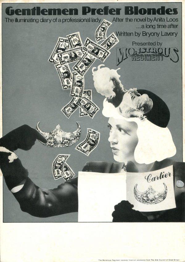 Gentlemen Prefer Blondes II 1979 Poster - Monstrous Regiment