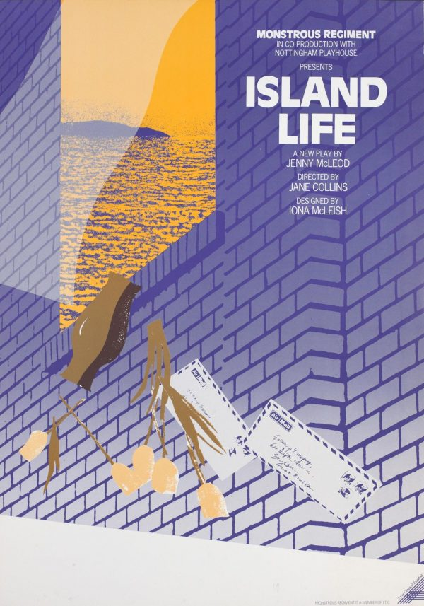 Island Life 1988 Poster - Monstrous Regiment