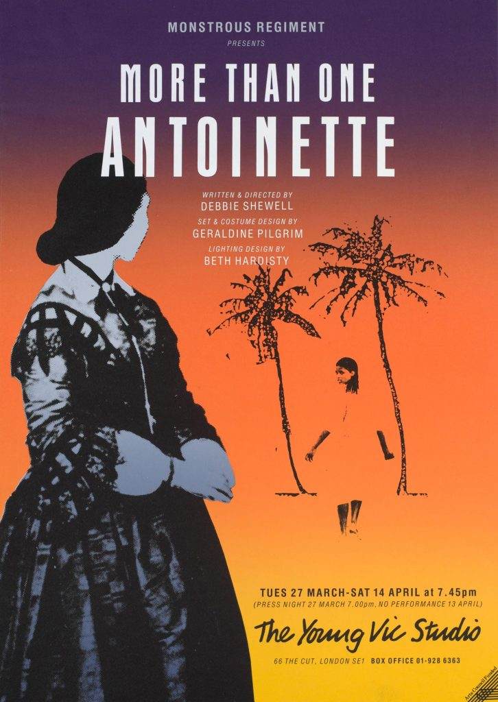 More Than One Antoinette 1990 Poster - Monstrous Regiment
