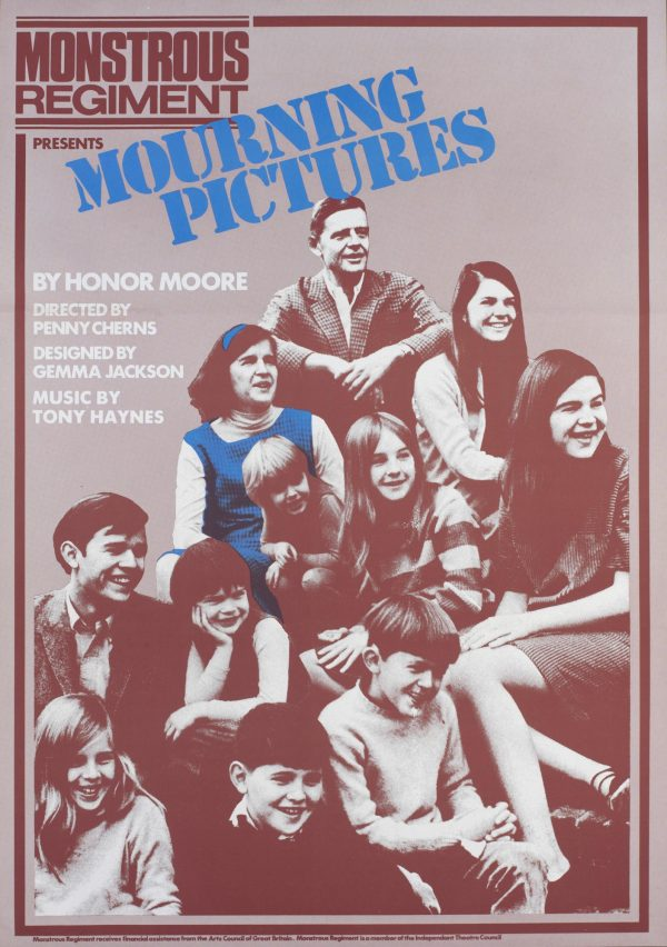 Mourning Pictures 1981 Poster - Monstrous Regiment