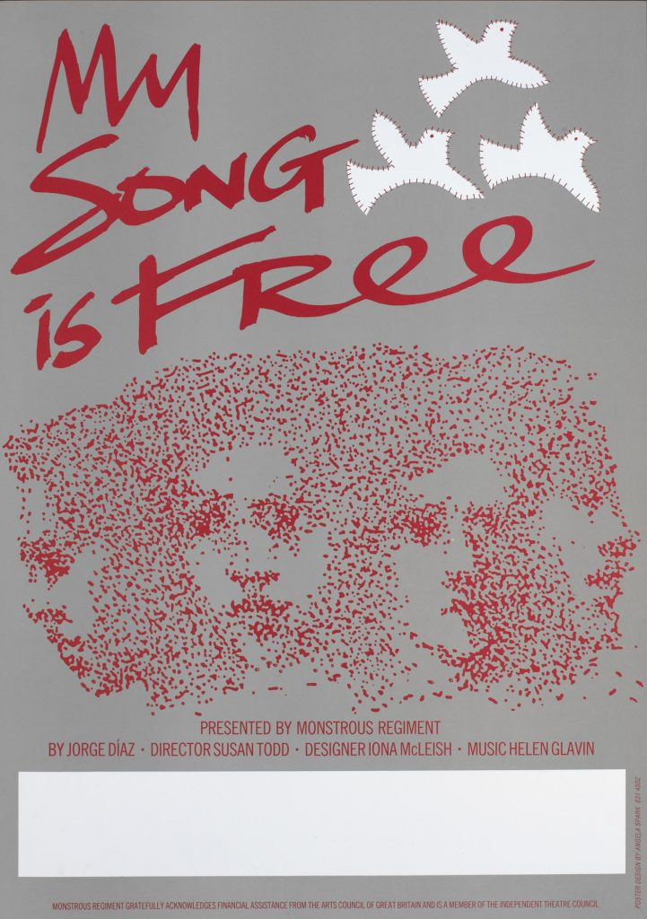 My Song is Free 1986 Poster - Monstrous Regiment