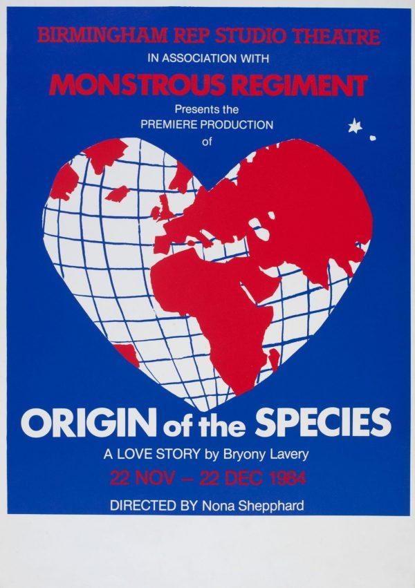 Origin Of The Species 1984-5 Poster - Monstrous Regiment