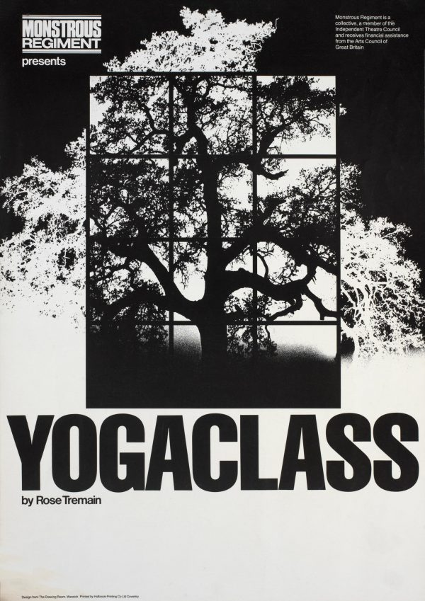 Yoga Class 1981 Poster - Monstrous Regiment